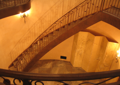 Del Sol house staircase