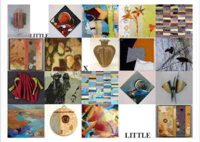 Little X Little Exhibition of small works - curator Satri Pencak