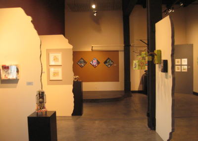 Little X Little C 14 contemporary arts gallery - small works exhibit